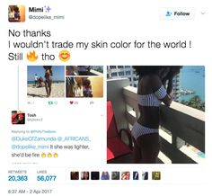 """""""I want all my dark skin girls to know that we are chocolate goddesses no matter what anyone says!"""" Mimi Mbah told BuzzFeed News."""
