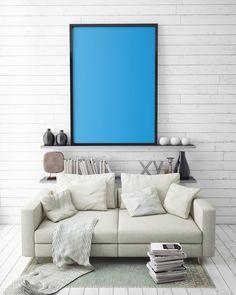 mock psd ups mockup photoshop living artworks mockups frame mandala lotus abstract contemporary poster comfort zone templates shelves frames dream