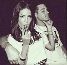 Halsey and g eazy shared by Thenia Ap on We Heart It G Eazy, Famous Couples, Hot Couples, Celebrity Couples, Celebrity Singers, Halsey, Jessie, Couple Goals Tumblr, Couple Goals Cuddling
