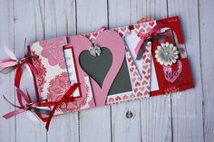 Love scrapbook, Wedding album, wedding gift, wedding guestbook, Valentine's day gift, premade scrapbook album -LV13 by sandysscrapbooks on Etsy