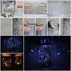 How to DIY Star Gazing Constellation Jar   www.FabArtDIY.com LIKE Us on Facebook ==> https://www.facebook.com/FabArtDIY
