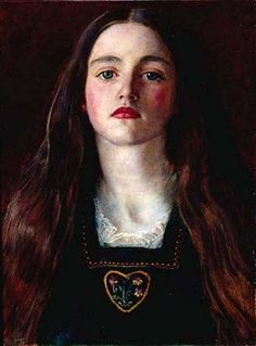 Sir John Everett Millais  『Portrait of a Girl』