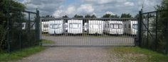 Keeping you caravan safely locked away. Caravan Holiday, Outdoor Structures, Storage, Purse Storage, Larger, Store