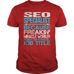 Awesome Tee For Seo Specialist T-Shirts, Hoodies. SHOPPING NOW ==►…