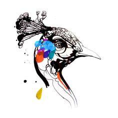 Tattly peacock tattoos