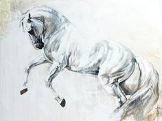 Toiles passées - past paintings — Elise Genest Horse Photos, Horse Pictures, Art Pictures, Painted Horses, Horse Wall Art, Horse Artwork, Horse Drawings, Animal Drawings, Horse Oil Painting