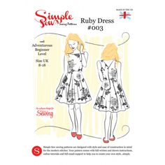 Free Ruby Dress Pattern with Issue 4 of Love Sewing