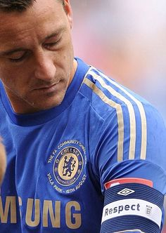 John Terry is a defender from England. he plays for Chelsea, and is the captain for the team. He has played for the club in he's whole carrier. He is a living legend.