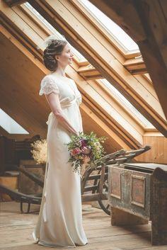 Žoržetové svatební šaty   Zboží prodejce Fanča 385bf105e5