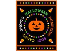 free halloween party printable sign