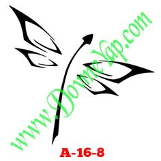 Yusufcuk Geçici Dövme Şablon Örneği Model No: A-16-8