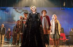 The chorus of Opera North in Into the Woods at West Yorkshire Playhouse, Leeds…