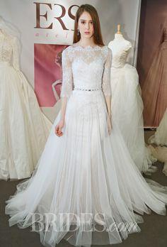 Ersa Atelier Spring 2015 Bridal Runway Shows Brides.com | Wedding Dresses Style | Brides.com