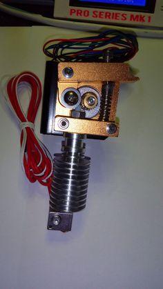 Bowden and Direct Extruder for flexible filament Ninja flex , flex PLA, 300C #Asteros