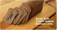 Custom Shaped Business Cards that Look and Feel Cool! | JukeBoxPrint.com: #CustomBusinessCards