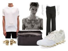 A menswear look from September 2016 featuring Rick Owens, mens pants and mens leather shoes. Browse and shop related looks. Rick Owens, Men's Fashion, Menswear, Shoe Bag, Polyvore, Stuff To Buy, Bags, Shopping, Collection