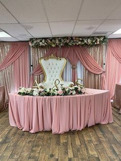 Beautiful wedding sweet heart table decorations using CV Linens fabric rolls, tablecloths, drape backdrop panels, backdrop stand and more! Elegant dusty rose wedding theme colors for pink mauve wedding celebrations. Perfect wedding decorations on a budget for spring weddings. #dustyrosewedding #weddingdecorations #springwedding Outdoor Wedding Backdrops, Wedding Reception Backdrop, Wedding Decorations On A Budget, Ceremony Decorations, Table Decorations, Elegant Wedding, Perfect Wedding, Sweetheart Table Decor, Head Table Wedding