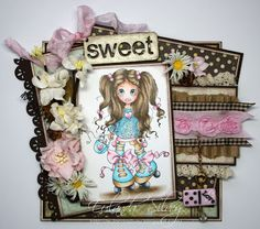 Cards and More Cards: Little Darlings Rubber Stamps - SC