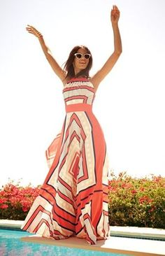I have this maxi dress, and it's so perfect for summer!!
