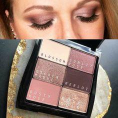 Mary Kay Eyeshadow, Mary Kay Makeup, Eyeshadow Looks, Eyeshadow Designs, Makeup Designs, Maquillage Mary Kay, May Kay, Cremas Mary Kay, Selling Mary Kay