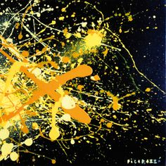 Giro di schiaffi - Giallo Abstract Art, Amazing, Movie Posters, Block Prints, Paint, Film Poster, Billboard, Film Posters