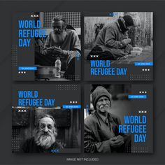Social Media Poster, Social Media Branding, Social Media Design, Social Media Graphics, Medias Red, Insta Layout, Instagram Design, Instagram Posts, World Refugee Day