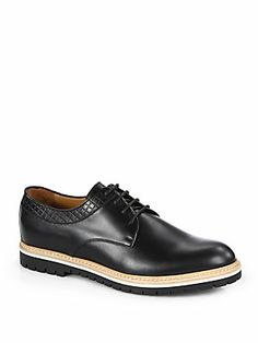 Gucci Galdor Leather Lace-Ups