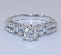 Over 1 carat diamond ring