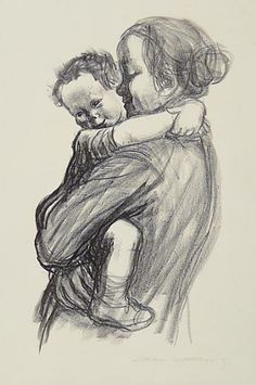 Käthe Kollwitz, Mother with Boy