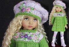 "Sweater Leggings Hat Boots Set Made for Effner Little Darling Same Size 13""Doll | eBay"