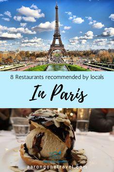Restaurants in Paris - 8 Restaurants Recommended by Parisians Paris Travel Guide, Europe Travel Tips, European Travel, Best Restaurants In Paris, Beste Brownies, Paris Food, Paris Itinerary, Equador, Paris Shopping
