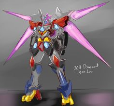 Power Rangers 2017 Megazord redesign by CheckerBoardAZN Power Rangers Mystic Force, Power Rangers 2017, Go Go Power Rangers, Gundam, Transformers, Batman Armor, Kamen Rider, Digimon, New Movies
