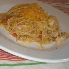 Fideo (Chicken Mexican Spaghetti)