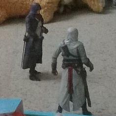 Assassins Creed Arno Dorian and Altair Ibn-La'Ahad