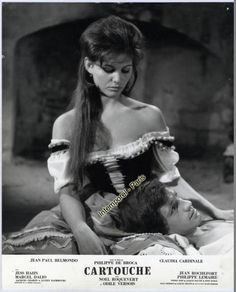 Photo Originale Cartouche Claudia Cardinale Jean Paul Belmondo | eBay