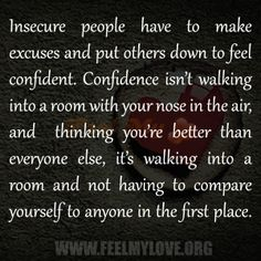 LOVE this.  #quotes #riseaboveitall #insecurepeople