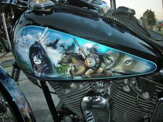 Unique Motorcycle | Motorcycles Custom Paint Jobs | Harley Davidson | Custom Paint Jobs
