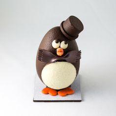 cute round penguin