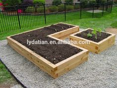 garden decor with inspiring raised garden beds gravels and raised garden beds in cedar raised garden beds and lawn with fences design ideas also retaining - Raised Bed Design Ideas