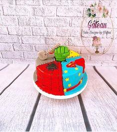 Hulk Cakes, Gateau Cake, Fondant Cakes, Cake Art, Cake Designs, Food Art, Cake Decorating, Hero, Daily Inspiration