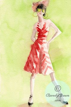 cool fashion illustration!