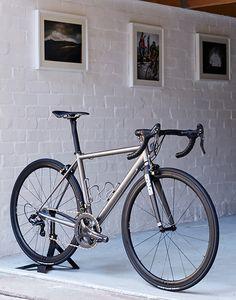 East Sussex metal: Enigma Echo Ti by Skunkworks Bikes