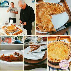 Um pouquinho das Tortas da Dona Manteiga na Festa de Renato Khair.  #tortadecamarão #tortatiroliro 🌱🐟🐄🍫🍰 @donamanteiga #donamanteiga #danusapenna #amanteigadas #gastronomia #food #bolos #tortas www.donamanteiga.com.br