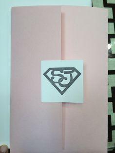Image result for lasercut superhero wedding invite