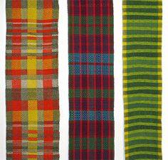 Trista's weavings