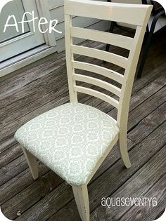 chair remix. fun for kitchen table chairs.