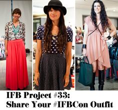 IFB Project #33 - Share your #IFBCon Outfit