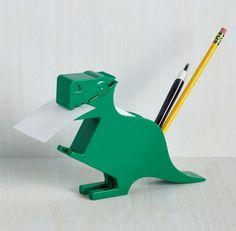 A multitasking T-rex.