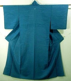 Graceful Turquoise Color Summer Ro Iromuji Kimono