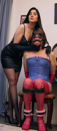 Sissys training gets serious femdom by lady fyre 3